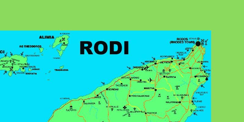 Karte Rhodos Urlaub.Rhodos Reiseführer Urlaub In Rhodos
